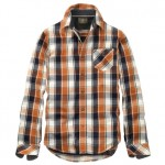 Timberland's Men's Allendale Yarn Died Plaid shirt