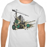 Urban explosion T-shirt